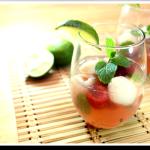 Strawberry Lychee Mojito