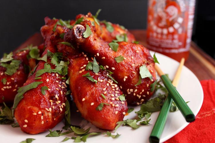 Sriracha Drumsticks