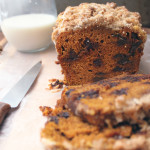Choc Chip Pumpkin Bread